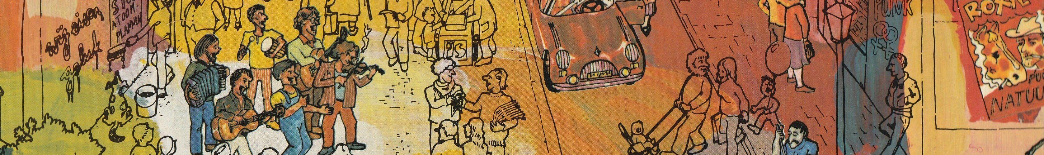 De Maatjes - detail LP-hoes